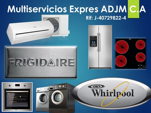 reparación de neveras, cocinas,lavadoras,secadoras whirlpool