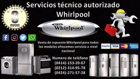 reparacion de neveras lavadoras secado autorizados whirlpool