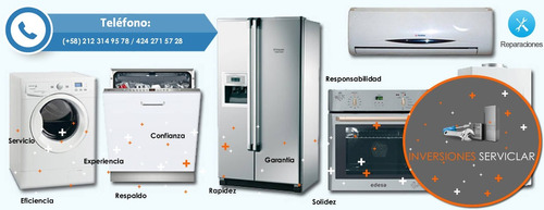 reparacion de neveras lavadoras secadoras a domicilio