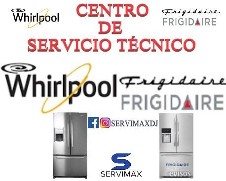 reparación de neveras whirlpool frigidaire bacco