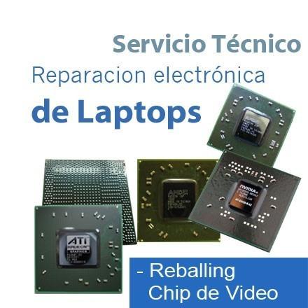 reparación de notebook - reballing bga- electrónica smd