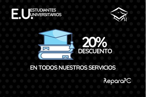 reparación de notebook y pc | 20% off | la plata