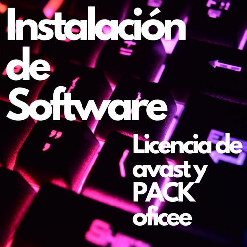 reparación de notebook y pc instalación de programas