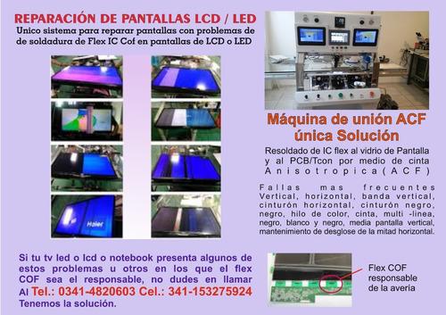 reparación de pantallas de led lcd centro de reballing
