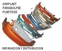 reparacion de paragolpes plastcios pintura y distribución