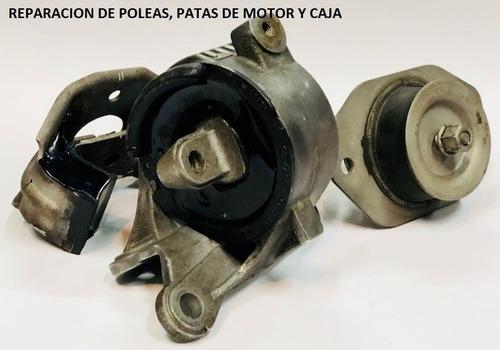 reparación de patas de motor, cazoletas, tensores, parrilla
