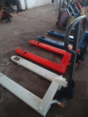 reparación de patines hidráulicos manuales.