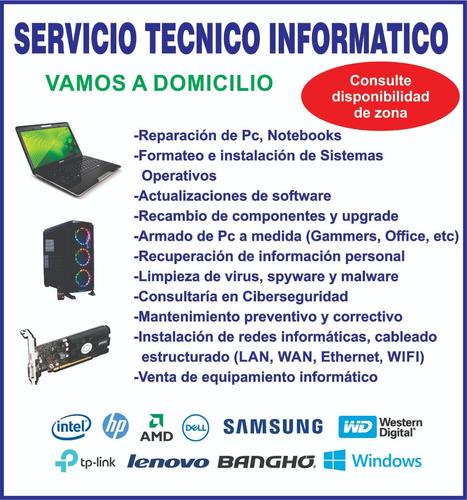 reparacion de pc, notebook y mas!!!!