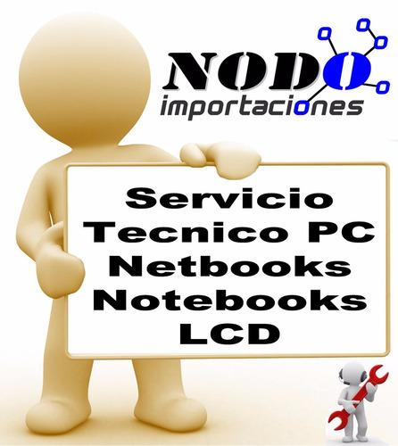 reparacion de pc, notebooks, reballing cargadores, pantallas