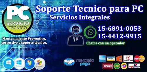 reparacion de pc servicios integrales informáticos