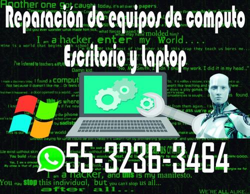 reparación de pc y laptops