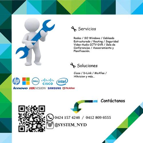 reparación de pc y laptops, redes y soporte técnico