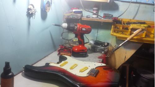 reparación de pedales amplificadores efectos
