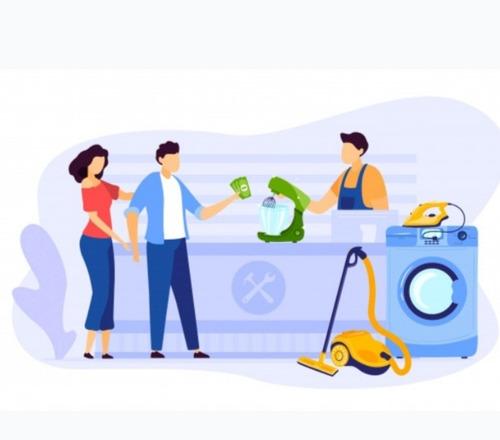 reparación de pequeños electrodomésticos y otros artículos