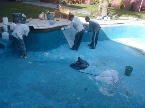 reparacion de piletas hormigon y fibra de vidrio*112445-3801
