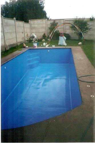 reparacion de piscinas de fibra de vidrio   y otros