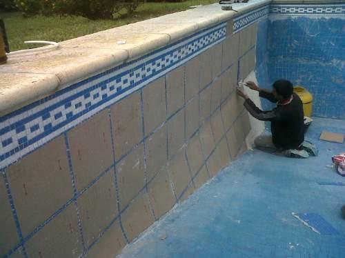 Reparaci n de piscinas de hormig n pintura Revestimiento de hormigon