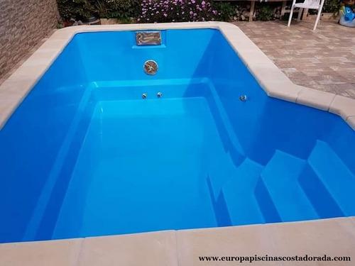 reparación de  piscinas fibra de vidrio  hormigón pintura