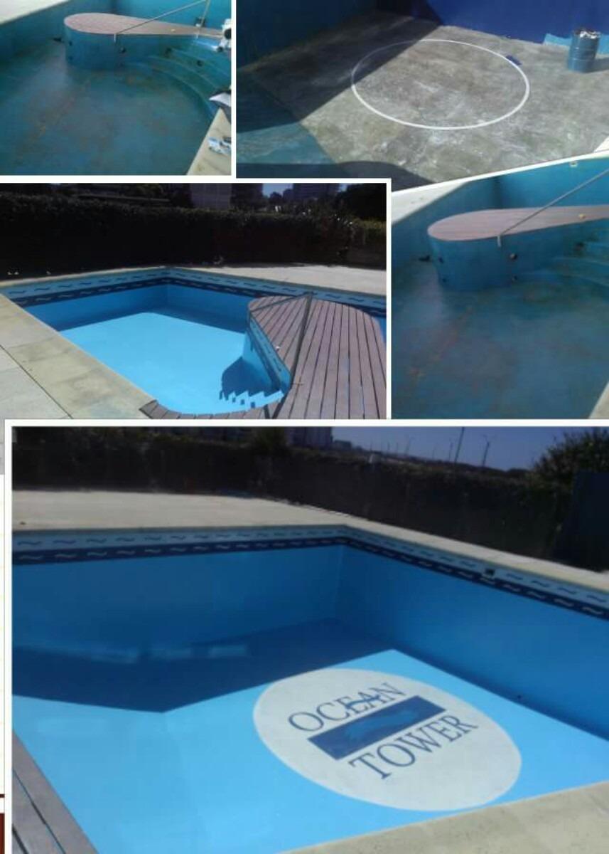 Reparaci n de piscinas plastificados en fibra de vidrio for Construccion de piscinas en uruguay