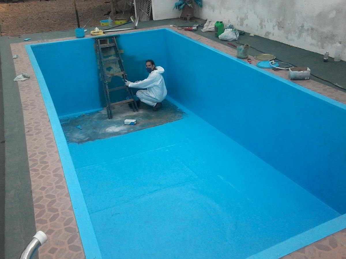 Reparaci n de piscinas plastificados en fibra de vidrio for Costo piscina fibra de vidrio
