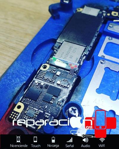 reparacion de placa iphone 7 / 7 plus falla audio