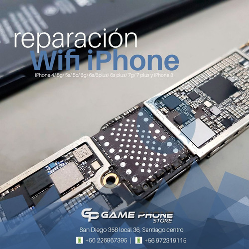 reparación de placas de iphone 5/ 6/6plus/6s/6splus/7/7plus