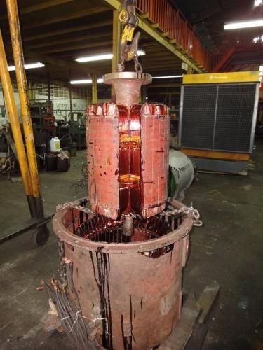 reparación de plantas eléctricas, rebobinado de generadores