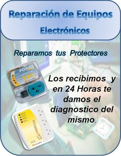 reparación de protectores de voltajes