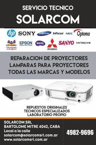 reparación de proyectores todas las marcas y modelos