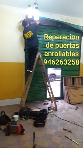 reparacion de puertas enrollables metálicas
