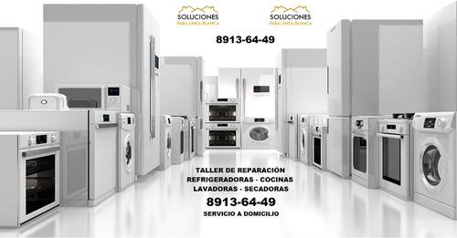 reparación de refrigeradoras lavadoras secadoras cocinas