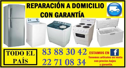 reparación de refrigeradoras y lavadoras a domicilio todo cr