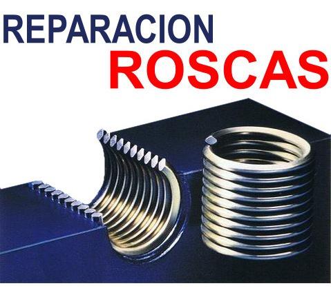 reparación de roscas insertos
