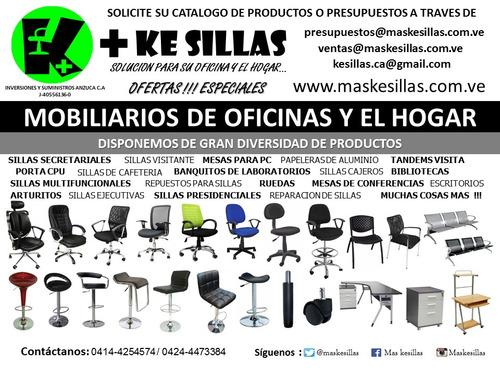 reparación de sillas de oficina y venta de repuestos