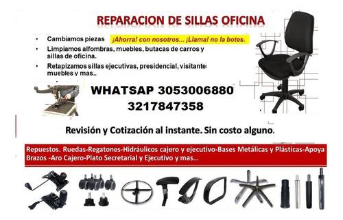 reparación de sillas oficina repuestos envió todo colombia