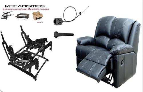 reparación de  sillas reclinables y sofá camas