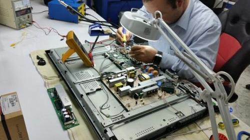 reparacion de smartv cambios de leds revision