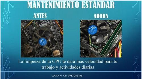 reparacion de software y hardware de pc y laptos