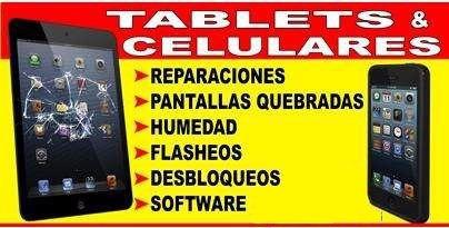 reparacion de tablet celulares iphone samsung sony alcatel