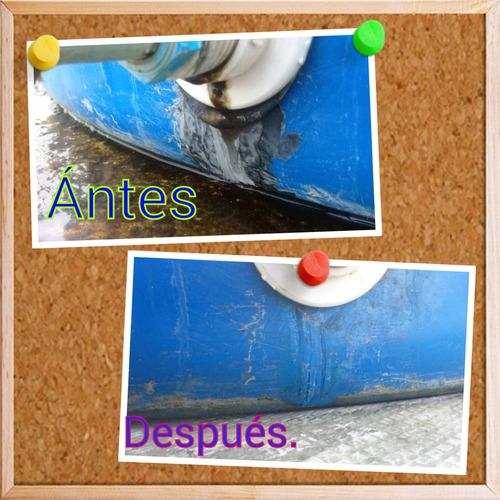 reparacion de tanques plasticos para agua/instalacion