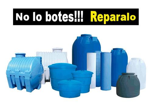 reparación de tanques plásticos (soldadura termoplastica)