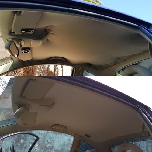 reparacion de tapizados de techo en tela