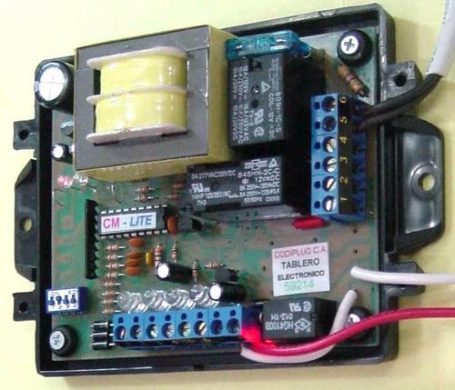 reparacion de tarjetas de portones electricos codiplug