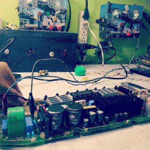 reparación de tarjetas electrónicas.