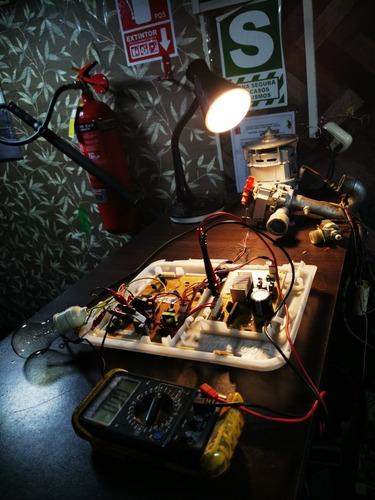 reparación de tarjetas electrónicas de lavadoras.