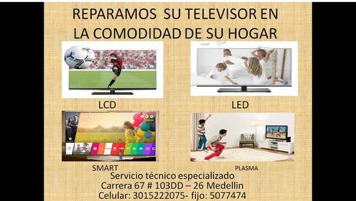 reparacion de televisores en bello lcd, led y plasmas a domi