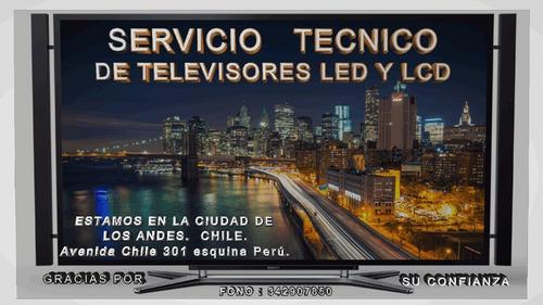 reparación de televisores led smartv en ciudad de los andes