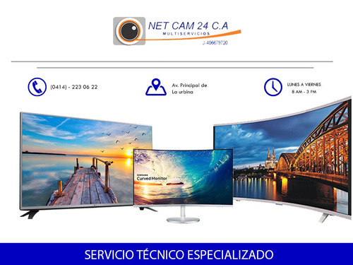 reparación de televisores lg samsung aoc hp sony dell