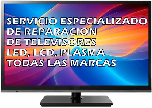 reparación de televisores recogemos en su domicilio
