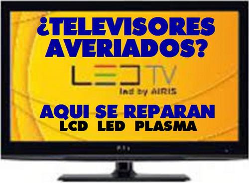 reparación de televisores smartv led en los andes.